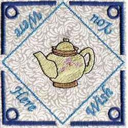 Tea Bag Holder embroidery design