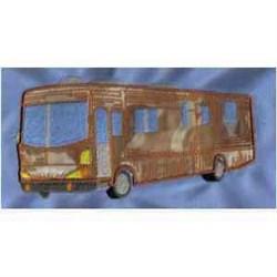 Applique Bus embroidery design
