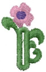 Buttonhole Flowers embroidery design
