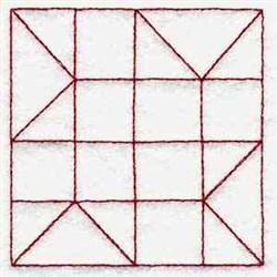 Square Quilt Block embroidery design