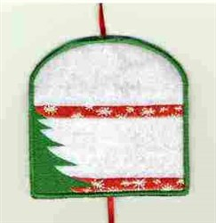 Christmas Card Holder embroidery design