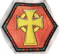 FSL Religious Cross Bowl embroidery design