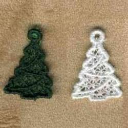 FSL Xmas Tree Charm embroidery design