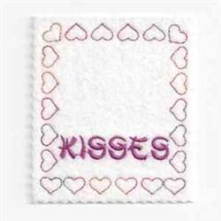 Valentine Bag Topper embroidery design