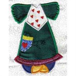 Paper Doll Dress embroidery design