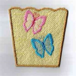 Butterfly Box embroidery design