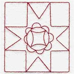 RW Quilt Square embroidery design