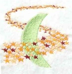 Milky Way Stars embroidery design