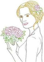 Bridal Beauty embroidery design