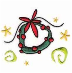 Whimsical Xmas Bell embroidery design