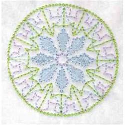 Round Quilt Pattern embroidery design