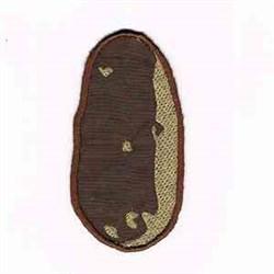 Brown Potato embroidery design