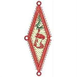 Stocking Ornament Cover embroidery design