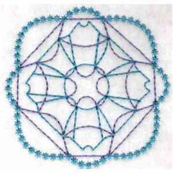 Quilt Square Outline embroidery design