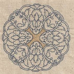 Quilt Persian Circle embroidery design