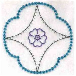 Diamond Pattern Block embroidery design
