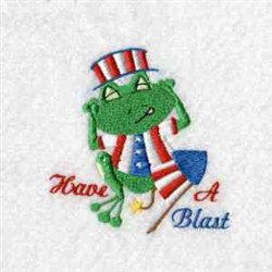 Have A Blast embroidery design
