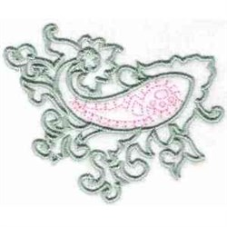 Paisley Ornament embroidery design
