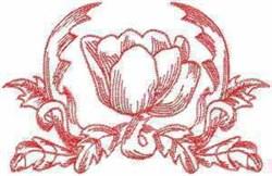 RW Tulip Bloom embroidery design