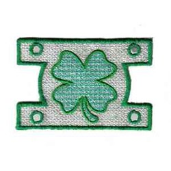 Shamrock Windsock embroidery design
