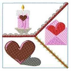 Love Letter Block embroidery design