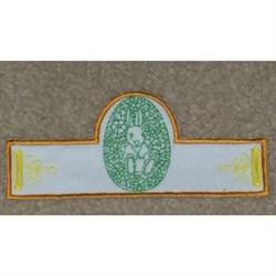 Easter Egg Stand embroidery design