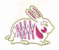 Fancy Rabbit embroidery design