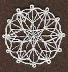 FSL Round Ornament embroidery design