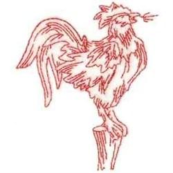 RW Cockerel embroidery design