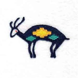 Cave Painting Deer embroidery design