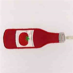 Catsup Bottle embroidery design