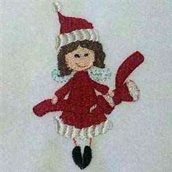 Xmas Fairies embroidery design