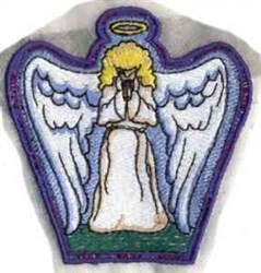 FSL Angel Bowl embroidery design
