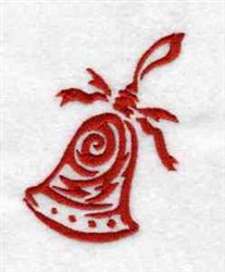 Holiday Bell embroidery design