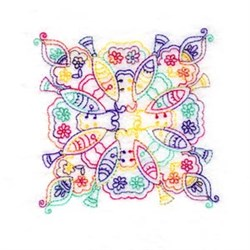 Paisley Block embroidery design