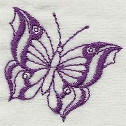 Fluttery Butterflies embroidery design
