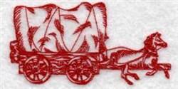 Redwork Pioneer embroidery design