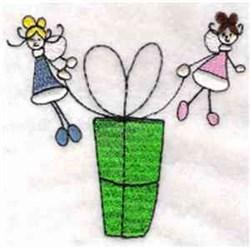 Christmas Fairies embroidery design