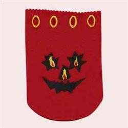 Halloween Treat Bag embroidery design