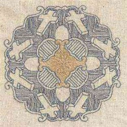 Religious Quilt Circle embroidery design