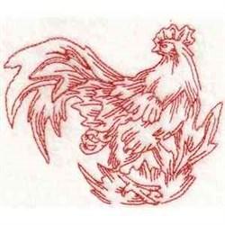 RW Chanticleer embroidery design