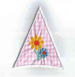 Floral Umbrella Section embroidery design