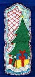 Christmas Bookmark embroidery design