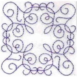 RW Quilt Rectangle embroidery design