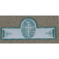 Religious Egg Stand embroidery design