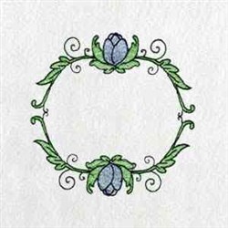 Circle Of Tulips embroidery design