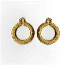 Hoop Earrings embroidery design