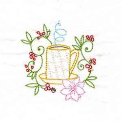 Coffee Aroma embroidery design