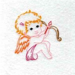 Sweet Cupid embroidery design