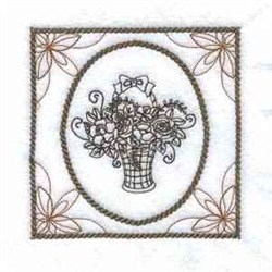 Flower Picture embroidery design